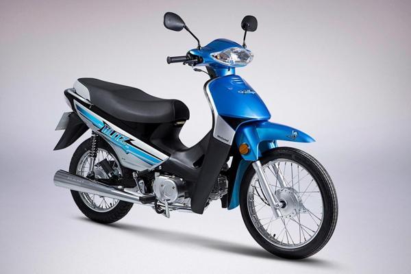 La Motomel Blitz 110 se ensambla en la Argentina con piezas procedentes de China