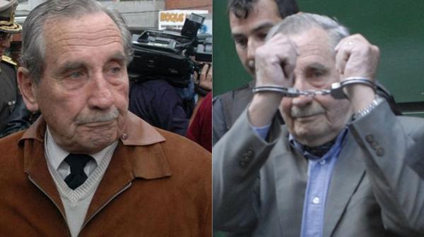 Álvarez fue condenado en 2009 a 25 años de cárcel por la desaparición de 40 personas trasladadas desde la Argentina durante su mandato al frente del Ejército