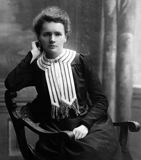 Marie Curie desarrolló el concepto de radioactividad