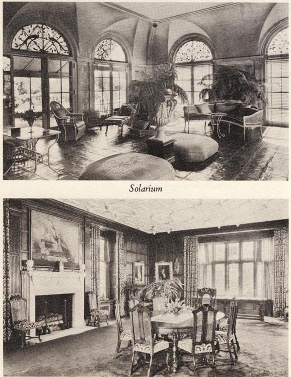 Así era por dentro la mansión de George duPont Pratt de acuerdo a publicaciones de los años 50