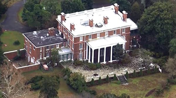 La otra mansión que Rusia utilizaba como centro de monitoreo está en la conjunción de los ríos Chester y Corsica, en Maryland