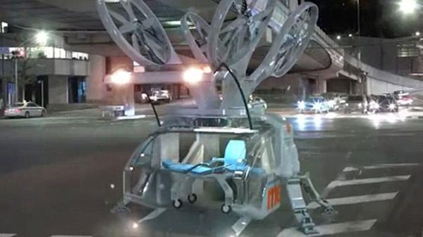 El drone sanitario no necesita de piloto