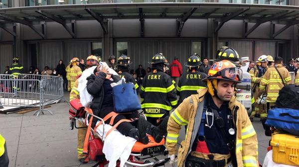 Las autoridades informaron que no hubo heridos de gravedad (AP)