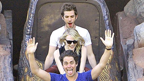 Andrew Garfield y Emma Stone en Disney