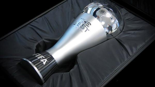 """Así es el trofeo """"The Best"""" que entregará la FIFA"""