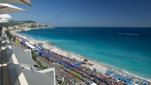 La edición en Niza, Francia, es una de las más bellas por sus paisajes (iStock)