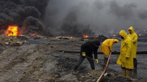 La economía del Estado Islámico se desangra por la baja producción de petróleo