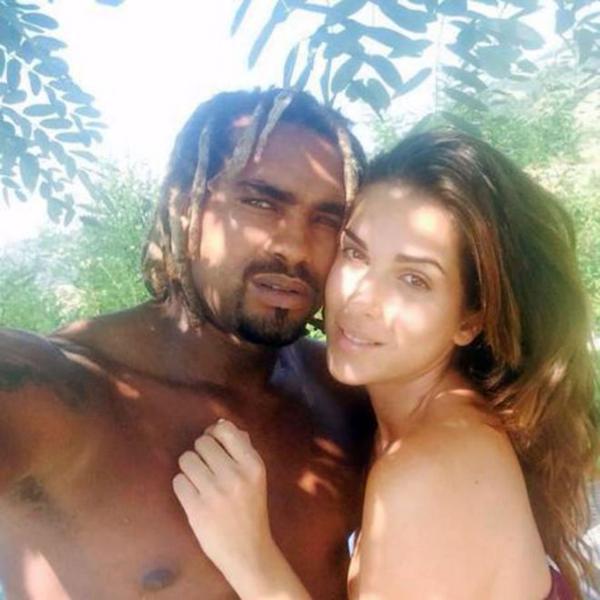Con Edson Tavares, su ex novio