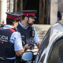 Mandatory Credit: Photo by Alessandro Serrano'/Shutterstock (9124441b) On the eve of the possible declaration of Catalan independence, the president of the Superior Court of Justice in Catalonia has decided to entrust the responsibility of the Justice Palace to the Spanish police, removing it from the Mossos d'Esquadra, the Catalan police, Barcelona, Spain The Spanish National Police takes possession of the Catalan Tribunal, Barcelona, Spain - 09 Oct 2017