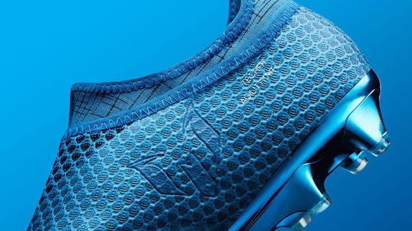 El logo de Messi, siempre presente en los botines que le crea Adidas al 10