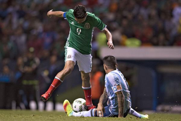 Como pasó ante Colombia y Haití, Argentina tuvo un rendimiento opaco(@argentina)