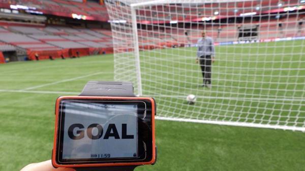La tecnología permitirá saber si la pelota cruzó la línea o no